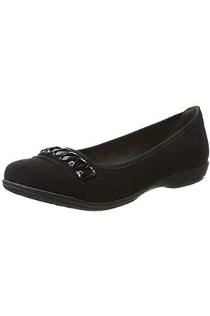 Soft Line 22160, Bailarinas Mujer, (Black)