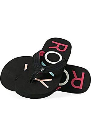 Roxy RG Vista, Zapatos de Playa y Piscina para Niñas, Black