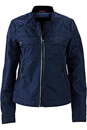 James & Nicholson Biker Jacket Chaquetas, Mujer