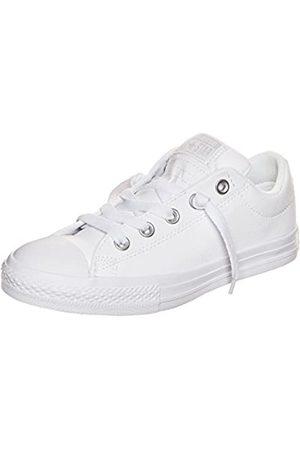Converse CTAS Street Slip, Zapatillas de Deporte Unisex niños, (White/White/White 100)