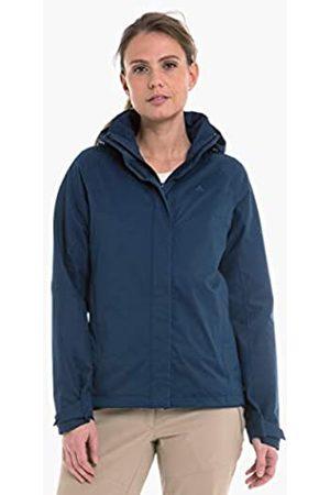 Schöffel Easy L4 - Chaqueta Impermeable y Cortavientos para Mujer, Ligera y Flexible, para Cualquier condición meteorológica, Mujer, 12638