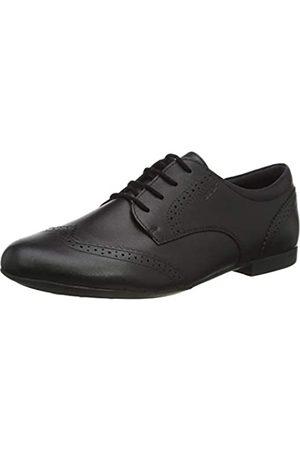 Geox JR Plie' B, School Uniform Shoe, (Black)