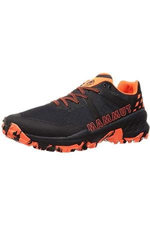 Mammut SERTIG II Low, Zapatillas de Senderismo Hombre, Black/Vibrant Orange
