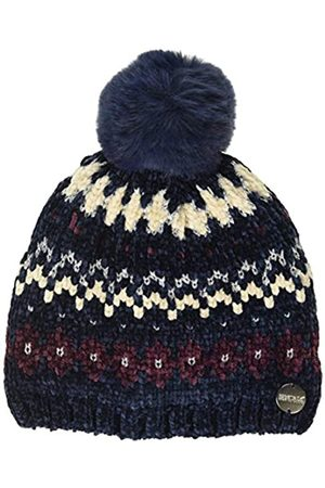 Regatta Hedy Lux Hat III Chenille Knit with Lrex Thread and Faux Fur Pom Poms Accesorio para la Cabeza, Infantil
