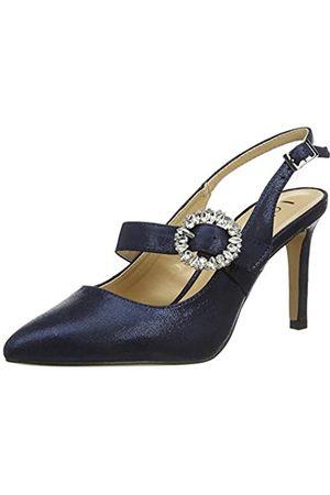 Lotus Mishka, Zapatos de tacón con Punta Cerrada Mujer, (Navy De)