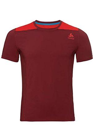 Odlo Bl Top Crew Neck S/S Ceramicool Camiseta, Hombre