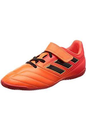 adidas Ace 17.4 In J H&L, Zapatillas de Fútbol Niñas, (Solar Orange/Core Black/Solar Red)