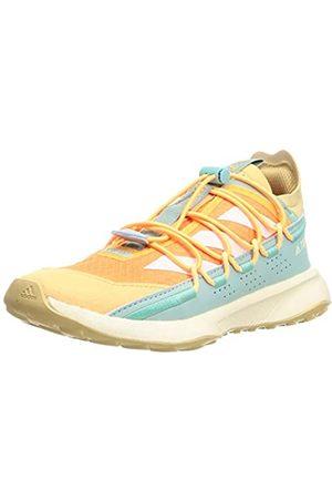 adidas Terrex Voyager 21 W, Zapatillas de Senderismo Mujer, NARCHI/BLACRE/VERBRU