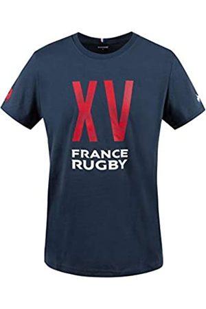 Le Coq Sportif FFR Fanwear tee SS N°1 M Camiseta de Manga Corta, Hombre