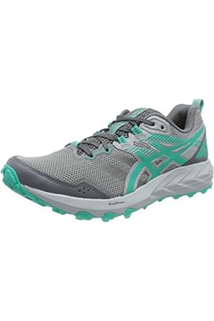 Asics Gel-Sonoma 6, Trail Running Shoe Mujer, Carrier Grey/Baltic Jewel