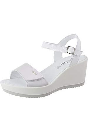 IGI&CO Sandalo Donna Dsc 51794, Sandalias de Plataforma Mujer, (Ghiaccio 5179411)