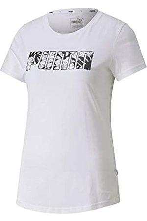 PUMA Summer tee Camiseta, Mujer, White