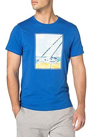 Regatta Hombre Polos - Camiseta Cline IV de algodón Coolweave y con Estampado gráfico