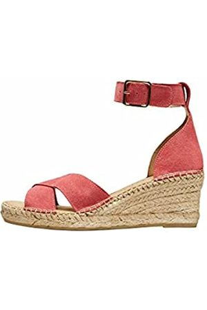 SELECTED SLFESTHER Wedge Suede Espadrilles B, Flacher Slipper Mujer