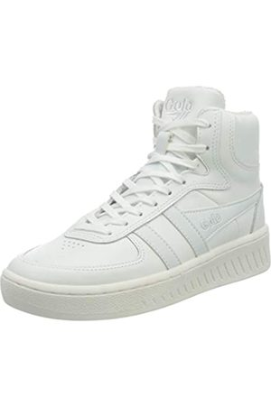 Gola Slam High, Zapatillas Mujer, White/White/White