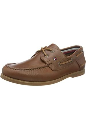Tommy Hilfiger Hombre Calzado casual - Classic Leather Boat Shoe, Zapatillas DE Piel CLÁSICO Hombre
