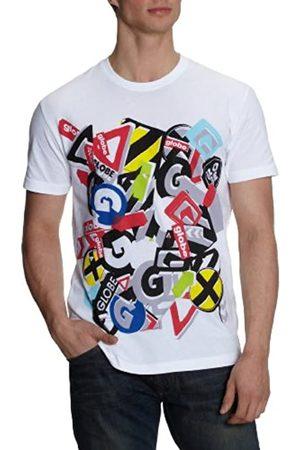 Globe Disaster tee-Camiseta de Manga Corta para Hombre Talla:S
