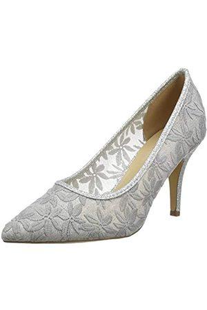 Lotus Mujer Tacón - Bryony, Zapatos de tacón con Punta Cerrada Mujer, (Silver JJ)