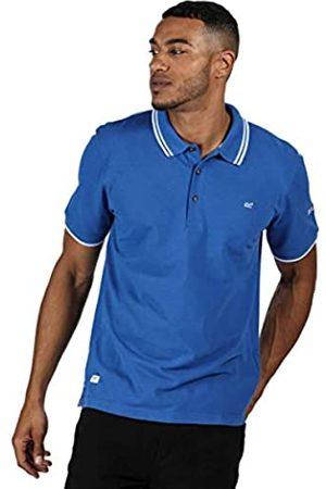 Regatta Talcott II Polo de Piqué de Algodón Y Cuello con Botones T-Shirts/Polos/Vests, Hombre