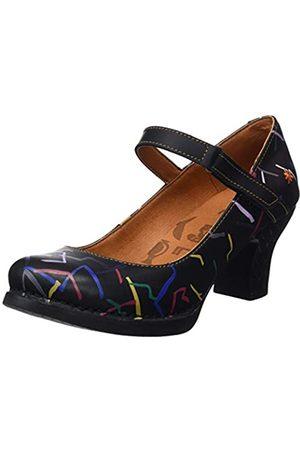 Art Harlem, Zapatos de tacón con Punta Cerrada Mujer, (Confeti Black)