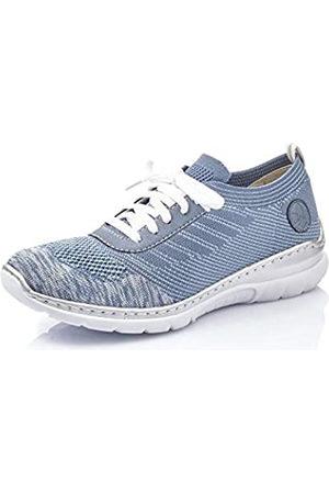 Rieker Mujer Zapatos de Cordones L32K4, señora Calzado Deportivo,Calzado,Calzado de Exterior,Deportivo,Ocio,Blau,36 EU / 3