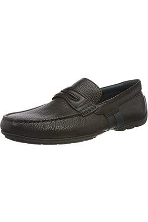 Geox U MONER B COFFEE Men's Loafers & Moccasins Moccasin size 43(EU)