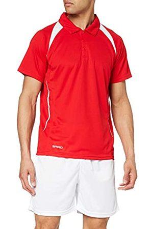 Spiro Hombre Polos - Team Spirit Camiseta de cuello polo deportiva para Hombre