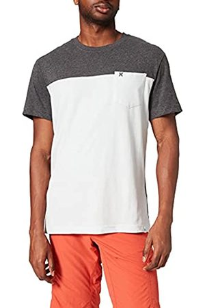 Hurley Hombre Polos - M Blocked SS tee T-Shirt, Mens