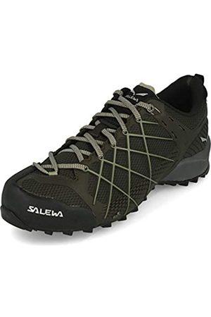 Salewa MS Wildfire, Zapatos de Senderismo Hombre, (Black Olive/Siberia)