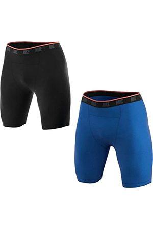 Nike M NK Brief Boxer 2PK Ropa Interior (2 Pares), Hombre, / (Black/Game Royal)
