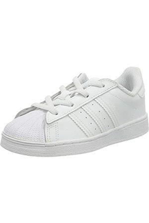 adidas Superstar EL, Sneaker Unisex bebé, Footwear White/Footwear White/Footwear White