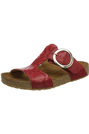 Haflinger Mujer Zapatos - Round Buckle Mika, Chanclas Mujer