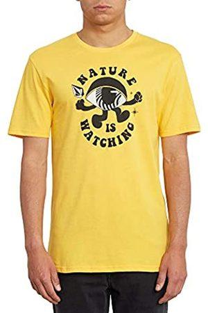 Volcom Watcher BSC SS Camiseta De Manga Corta, Hombre
