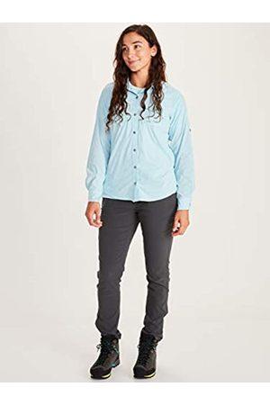 Marmot Mujer Camisetas y Tops - Camisa Outdoor Manga Larga, T-Shirt, Camisa de Senderismo, con protección UV