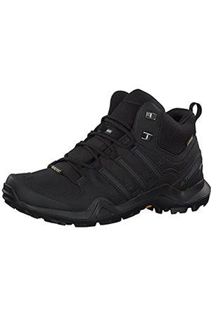 adidas Hombre Zapatillas deportivas - Terrex Swift R2 Mid GTX, Zapatillas de Marcha Nórdica Hombre, (Core Black/Core Black/Core Black 0)