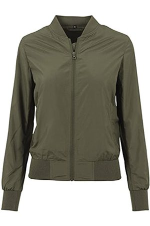 Build Your Brand Mujer Bomber - Ladies Nylon Jacket Chaqueta Bomber de Nailon para Mujer