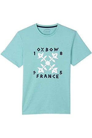 Oxbow N1TOPOR Camiseta de manga corta gráfica Hombre, (Lagón)
