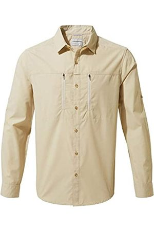 Craghoppers Kiwi Boulder - Camiseta de Manga Larga para Hombre, Hombre, Camisa de Manga Larga, CMS612 70U90