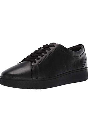FitFlop Mujer Zapatillas deportivas - Rally Sneakers, Zapatillas sin Cordones Mujer, Black (All Black 090)