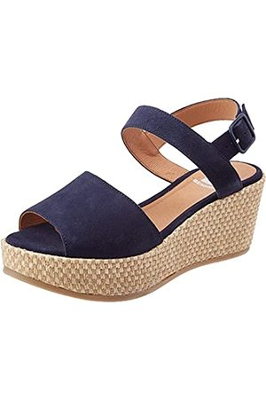 Bensimon Sandales COMPENSEES Suede, Plataforma Mujer