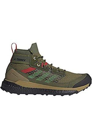 adidas Hombre Trekking - Zapatilla Terrex Free Hiker, Botas de Senderismo Hombre, WILPIN/VIVGRN/VIVRED