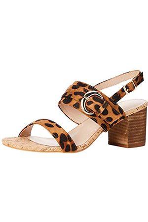 Lotus Mujer Tacón - Almaya, Zapatos de tacón con Punta Abierta Mujer