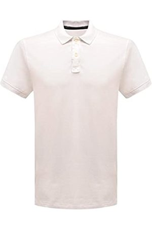 Regatta Classic 65/35 3 Button Placket Polo Shirt T-Shirts/Polos/Vests, Hombre, White