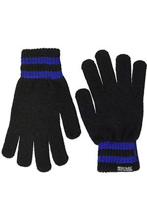 Regatta Hombre Guantes - Davion II Acrylic Knit Striped Wrist Gloves Guantes, Hombre