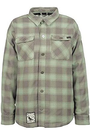 L1 Mujer Camisetas y Tops - Camiseta de Franela Stranggelove '19 para Mujer, Color Limo/plomizo