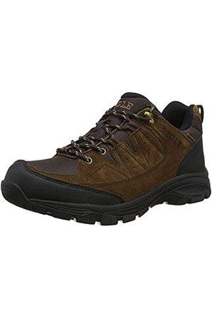 Aigle Vedur Mtd, Zapatos de Low Rise Senderismo Hombre, (Dark Brown 001)