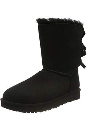 UGG Female Bailey Bow II Classic Boot, Black