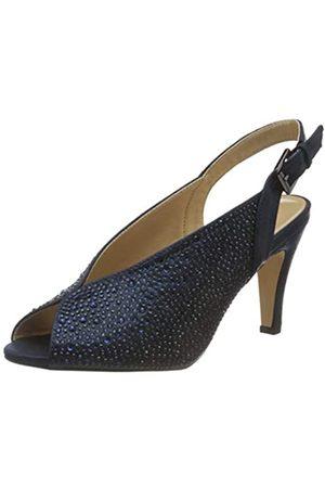 Lotus Calista, Zapatos de tacón con Punta Abierta Mujer, (Navy Ej)