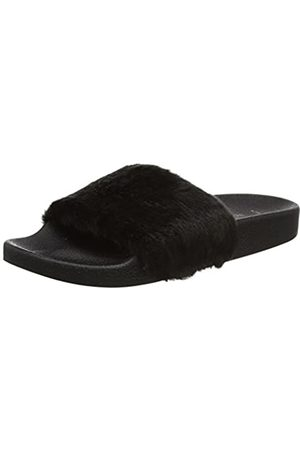New Look 5104584, Chanclas Mujer, (Black)
