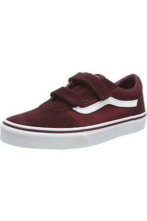 Vans Ward V-Velcro, Zapatillas para Niños, ((Suede/Canvas) Port Royale/White U1a)